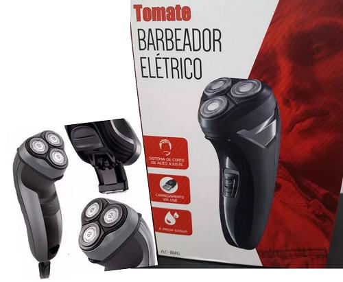 Barbeador Elétrico e aparador Tomate