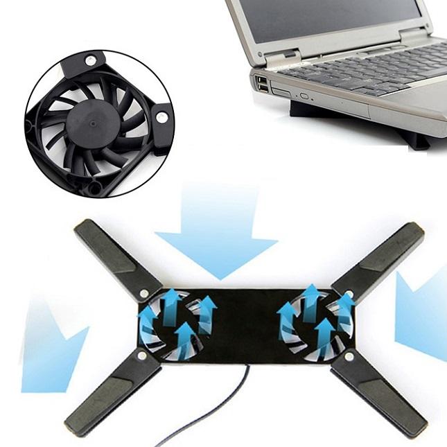 Base Cooler Dobrável Para Notebook LapTop