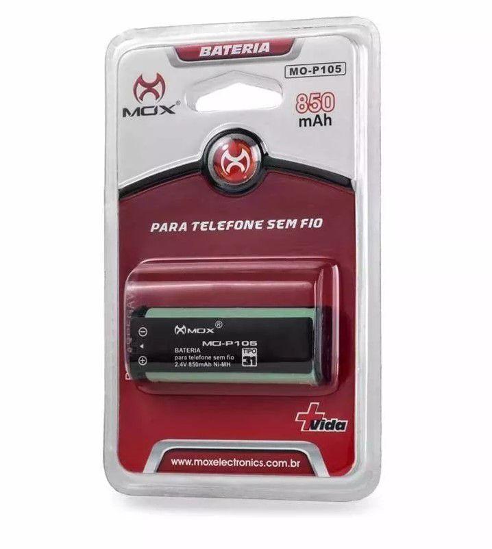 Bateria Mox-p105 Para Telefone S/fio (hhr-p105)