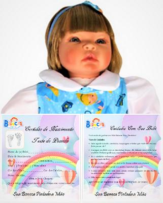 Bebê Reborn amiga Helena Cinderela Refletindo Você