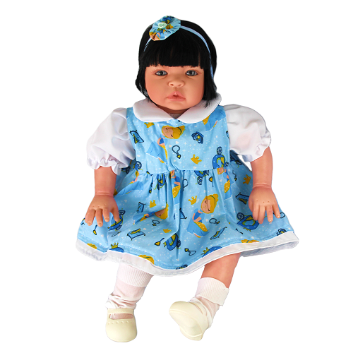 Bebê Reborn Catarine Cinderela Refletindo Você
