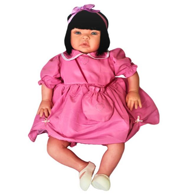 Bebê Reborn Catarine dia de Festa Refletindo Você
