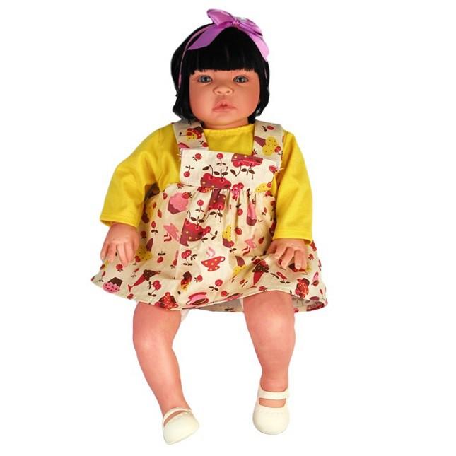 Bebê Reborn Caterine Cupcake Refletindo