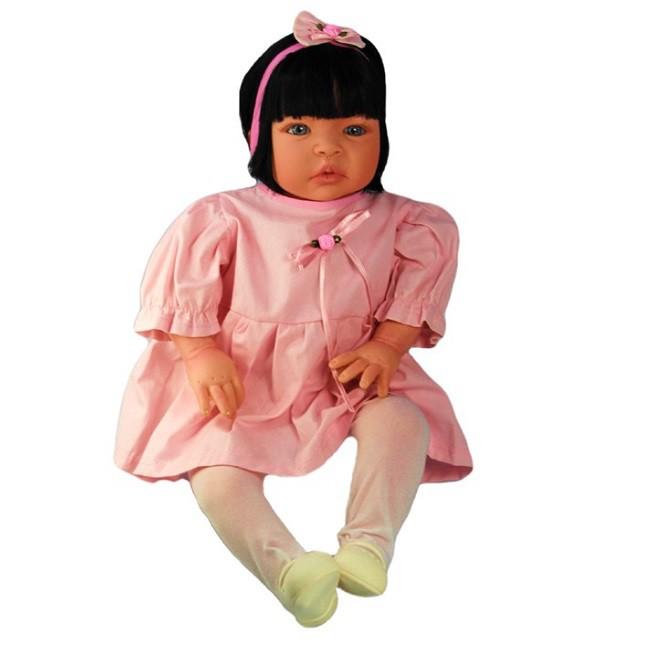 Bebê Reborn Caterine Rosinha Refletindo