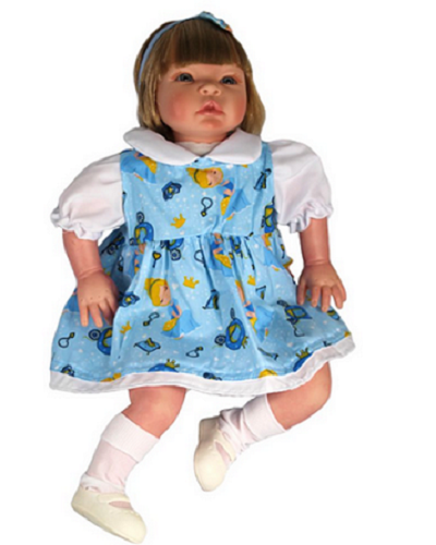 Bebê Reborn Helena Cinderela Refletindo Você