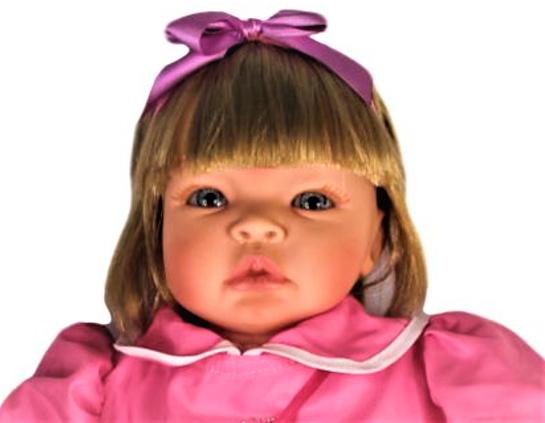 Bebê Reborn menina Helena Festa Refletindo Você