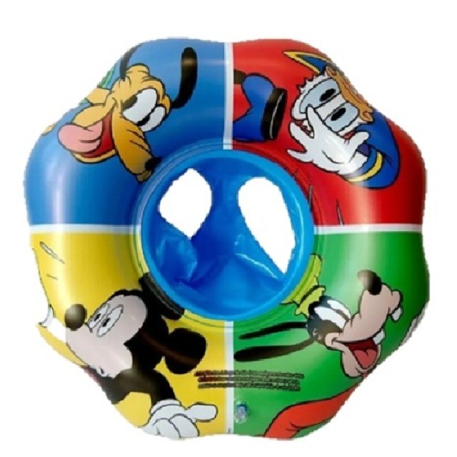Boia Infantil Circular Inflável Fralda Mickey