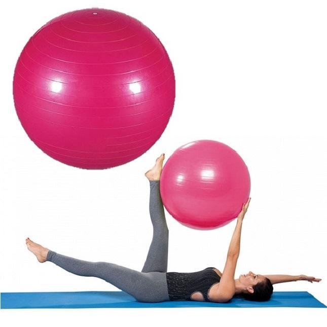Bola Para Exercícios De Pilates Yoga Fisioterapia com Bomba