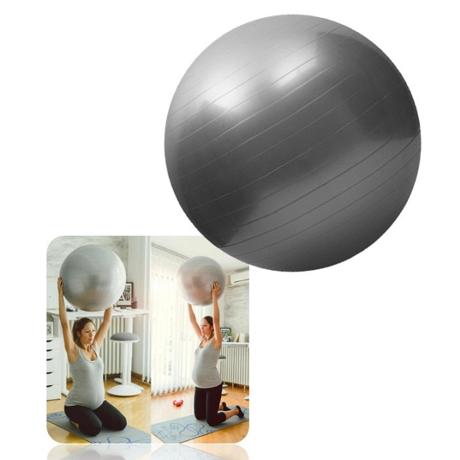 Bola Para Fisioterapia Yoga Pilates Academia Treino com Bomba