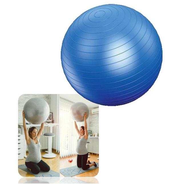 Bola Para Pilates Academia Yoga Fisioterapia Treino com Bomba