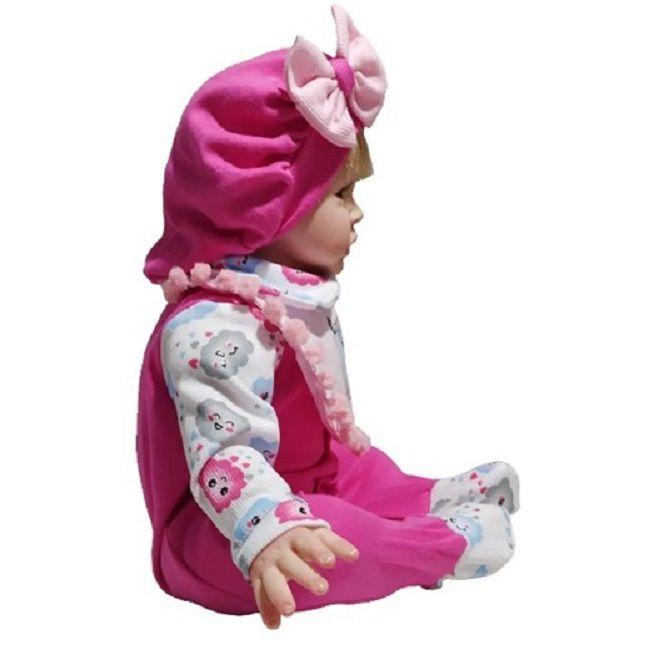 Boneca Bebê Reborn Brianna Doll Realist