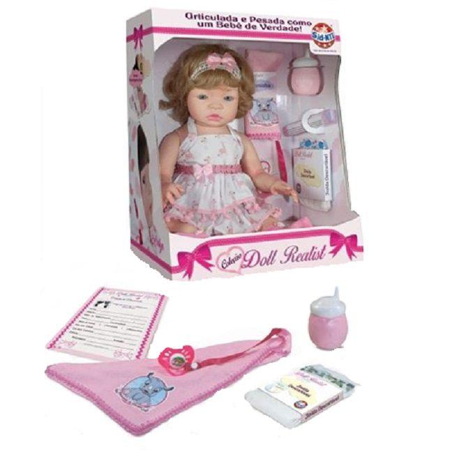 Boneca Kayla Bebê Reborn Doll Realist