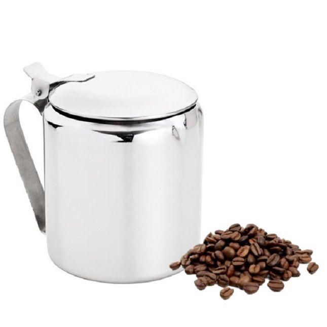 Bule Em Aço Inox Leite Café Chá 600ml