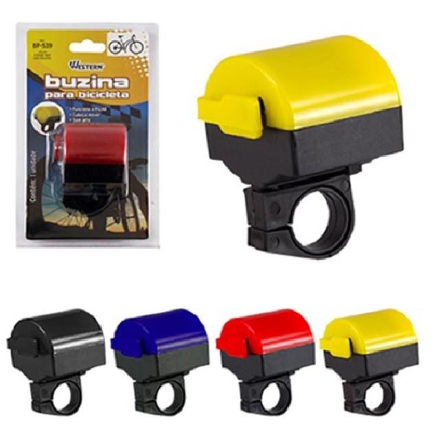 Buzina de Bicicleta Sirene Eletrônica