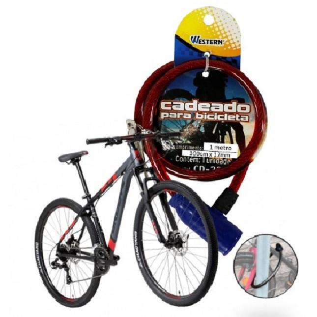 Cadeado Trava Bicicleta Moto Antifurto Universal