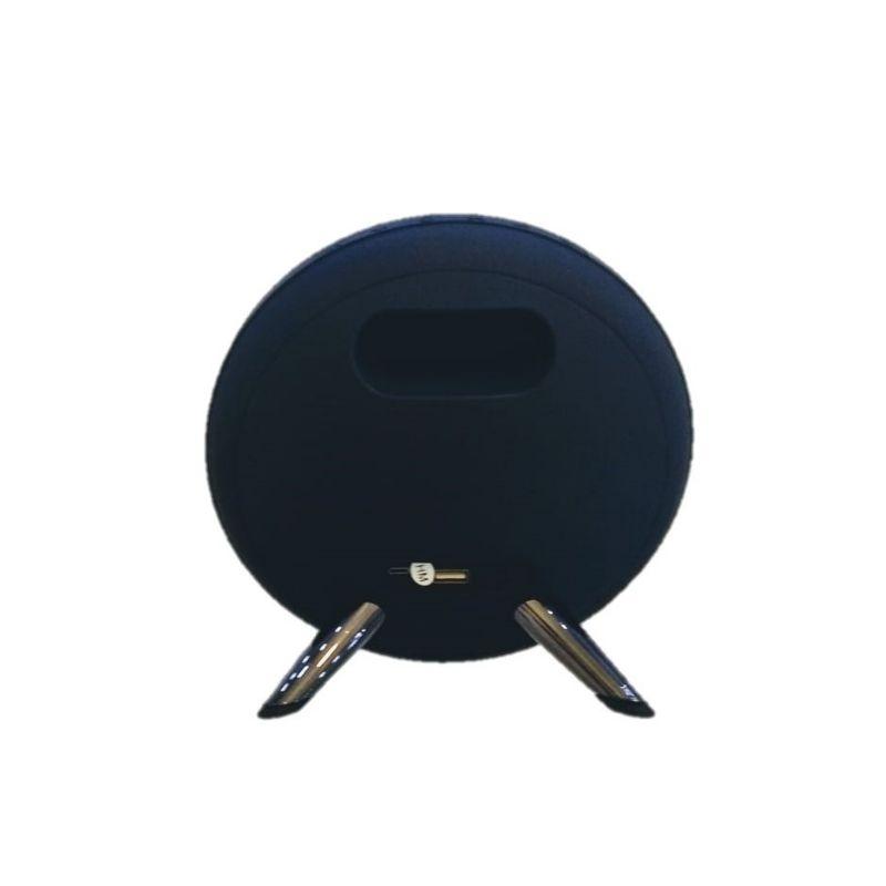 Caixa caixinha de som Bluetooth Decorativa K4 Preta