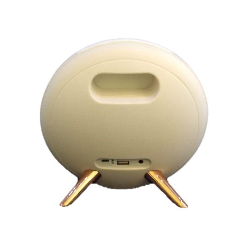 Caixa caixinha de som Bluetooth Decorativa K4 Branco
