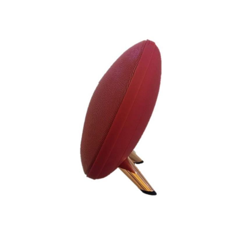 Caixa caixinha de som Bluetooth Decorativa K4 Vermelha