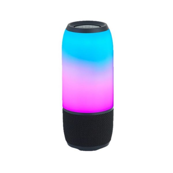 Caixa caixinha Pulse Grande Led de som Bluetooth