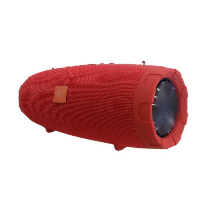 Caixa De Som Explorer Vermelha 60w Portátil Bluetooh