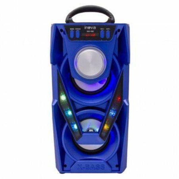 Caixa De Som Música Portátil Bluetooth 20W Rad 1062 Preto