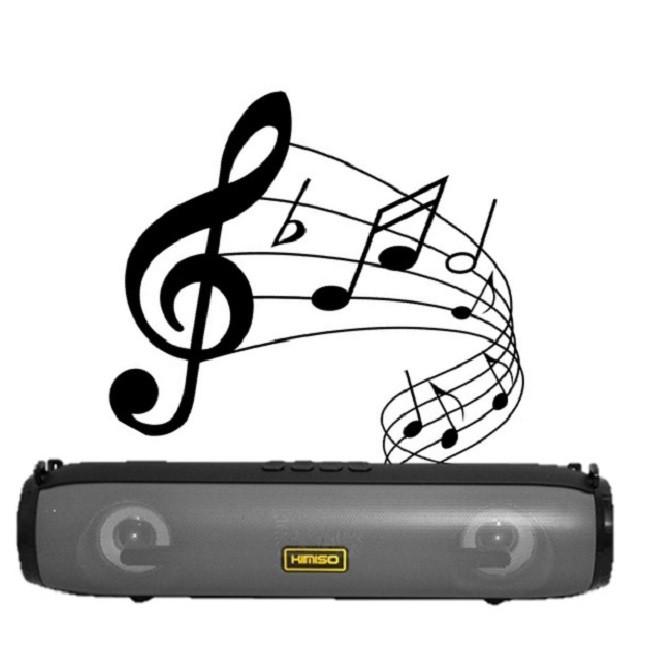 Caixa de Som Portátil Bluetooth KM-203 Kimiso