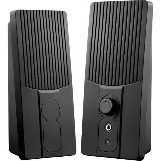 Caixa de Som para PC 2.0 USB SP044 Preto MULTILASER