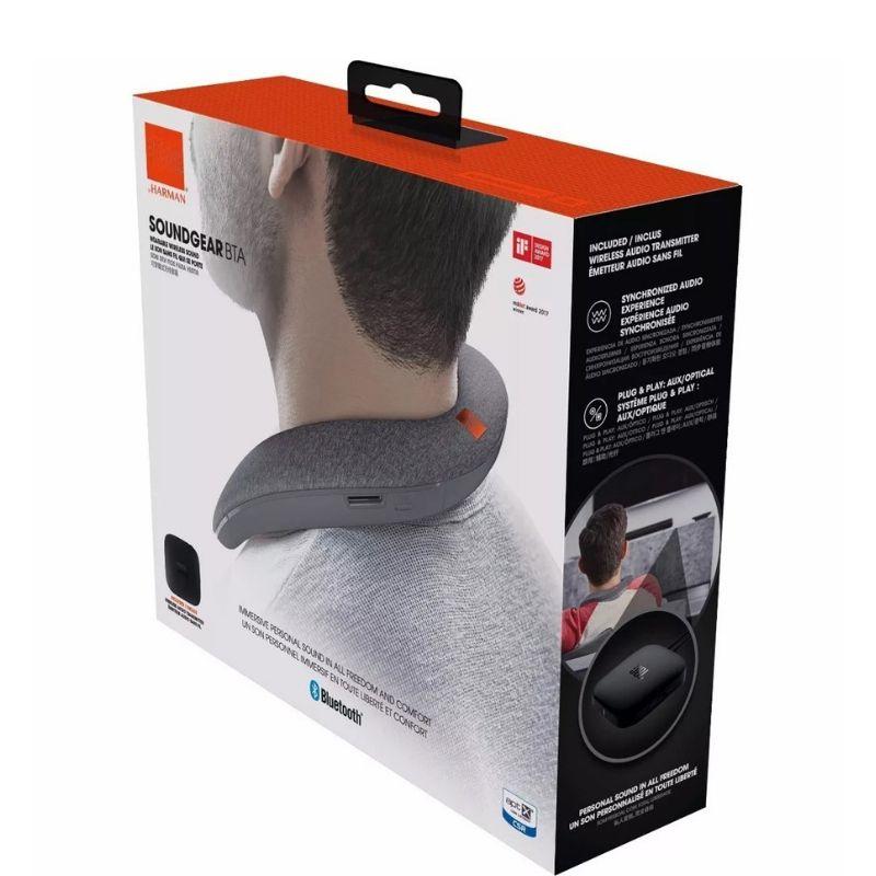 Caixa Som Soundgear Vermelho Pescoço Bluetooth Wireless