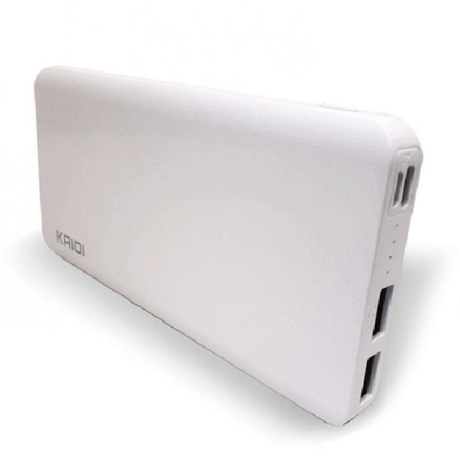 Carregador Portátil Celular Tablet Kaidi 10.000 Mah