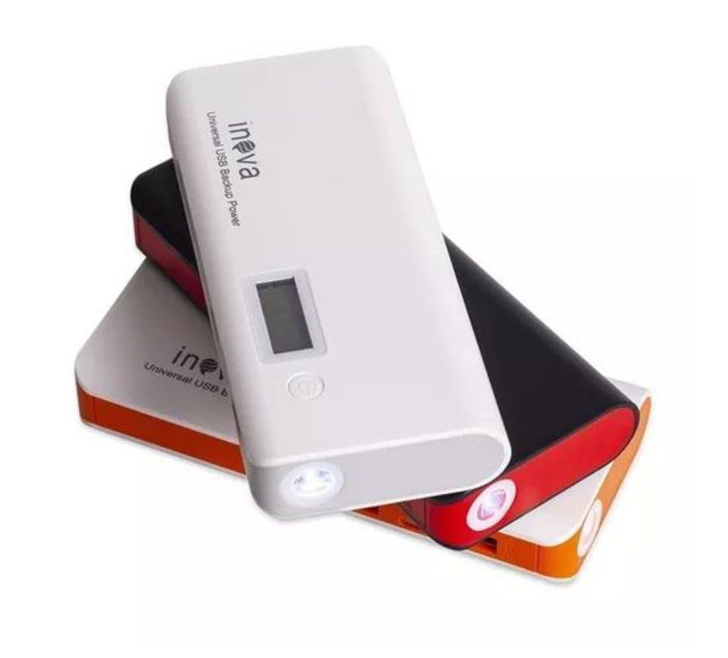 Carregador Portátil Power Bank Celular Tablet  10.000 Mah