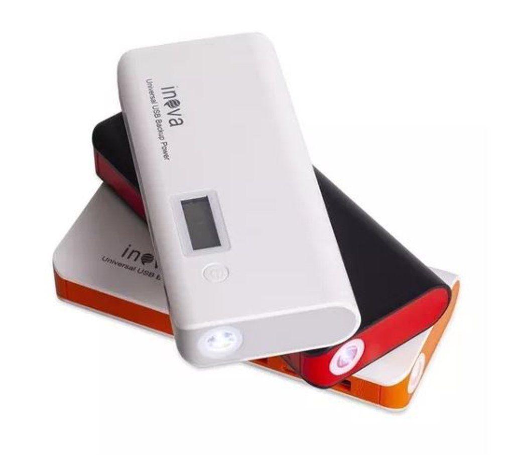 Carregador Portátil Power Bank Celular Tablet  10.000 Mah