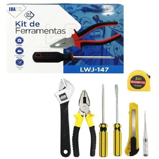 Conjunto de ferramentas 7 Peças LWJ-147