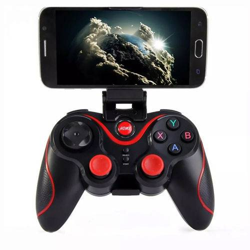 Controle Jogos Free Fire Game Pad Pro Bluetooth Tiro Android HIG 013