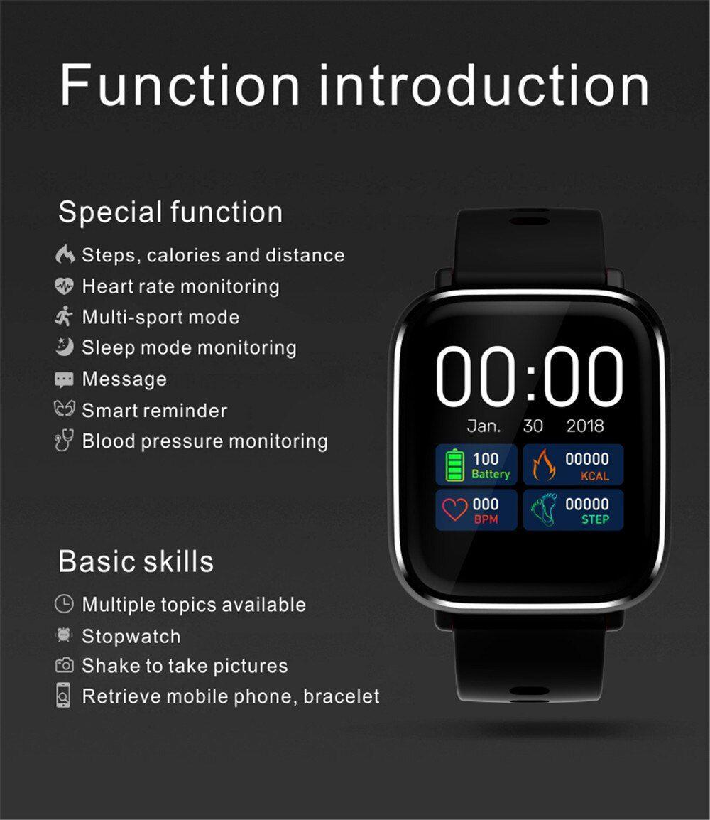 Pulseira Relogio q58s Smartband Inteligente Modo Esporte SmartWatch Android e IOS