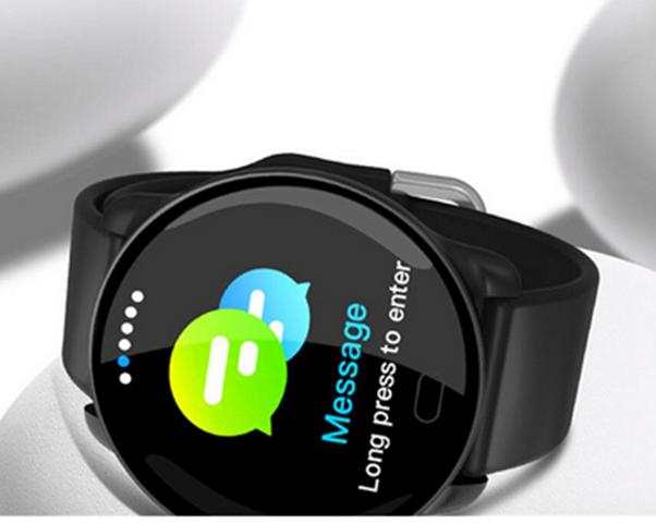 Relógio Smartwatch k9 Medidor de Coração e Pressão Bluetooth e Musica