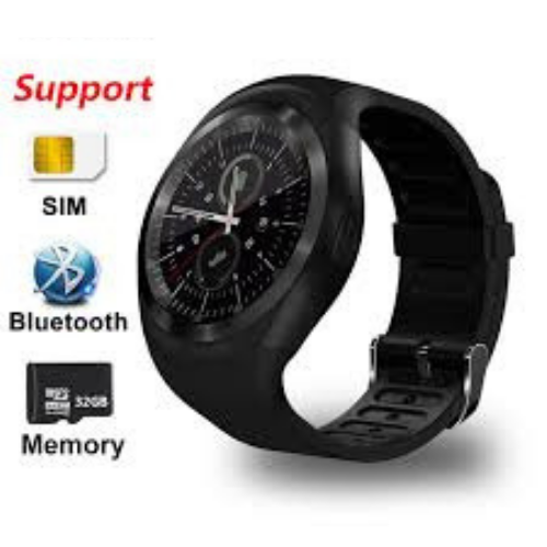 Relógio Inteligente  Smart Watch Y1 Android Touch Bluetooth FULL