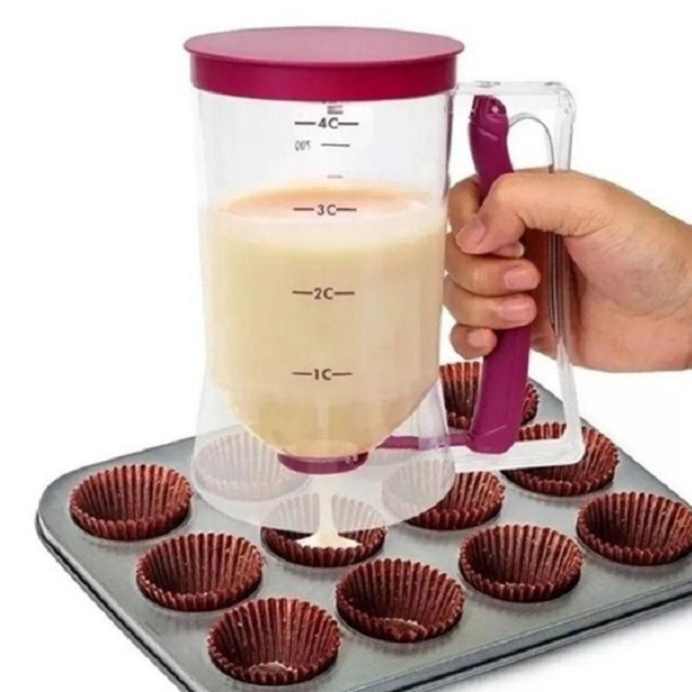 Copo Massa de Cupcake e Panqueca