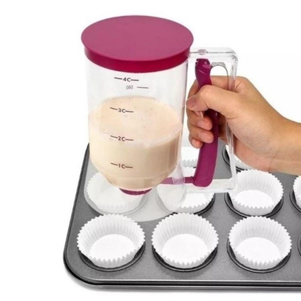 Copo Medidor Massa de Panqueca e Cupcake