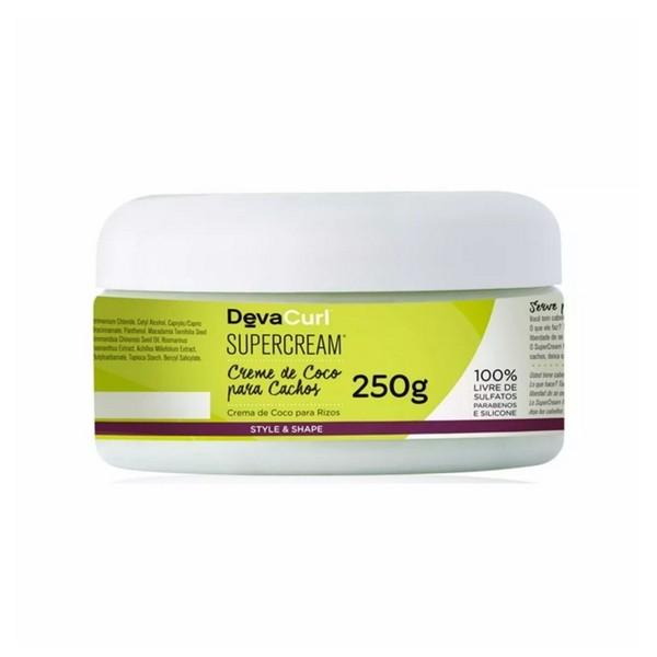 Deva Curl Creme De Coco Para Cachos Super Cream 250g