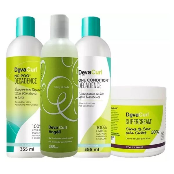 Deva Curl Decadence One Cond,super Cream 500g Angell