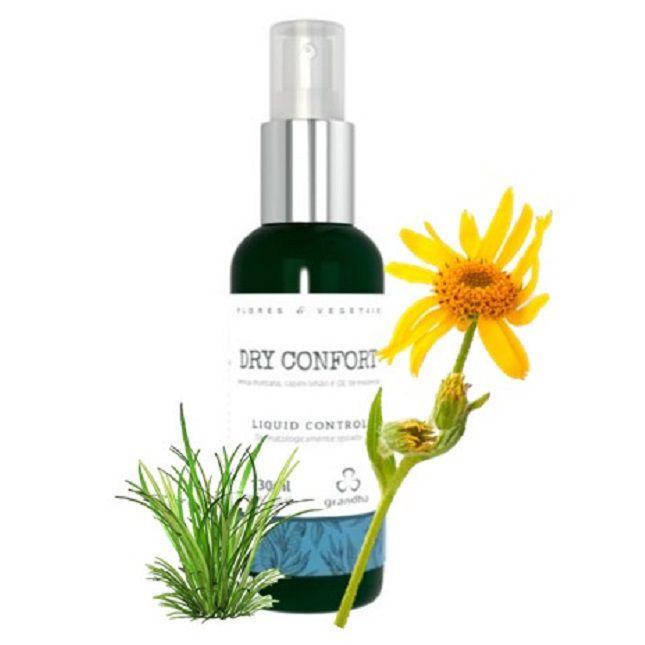 Dry Confort Grandha  Flores e Vegetais Liquid Control 130ml