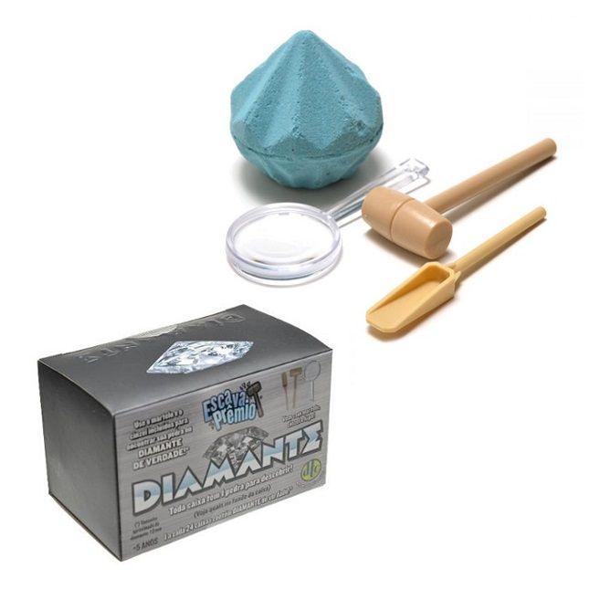 Escava Prêmio Série Diamante Ouro Insetos DTC