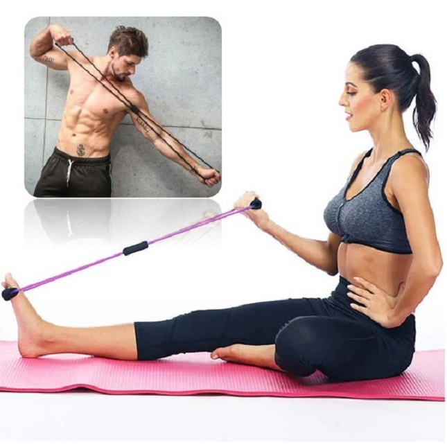 Extensor Elástico Academia Biceps/Triceps