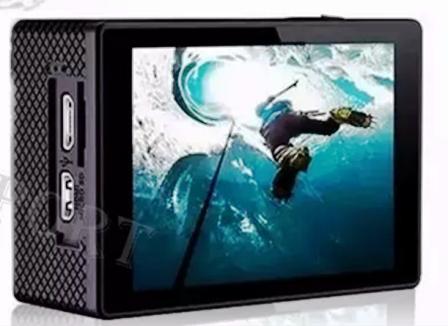 Filmadora Câmera e cartão de memória 32GB Esportes e Laser