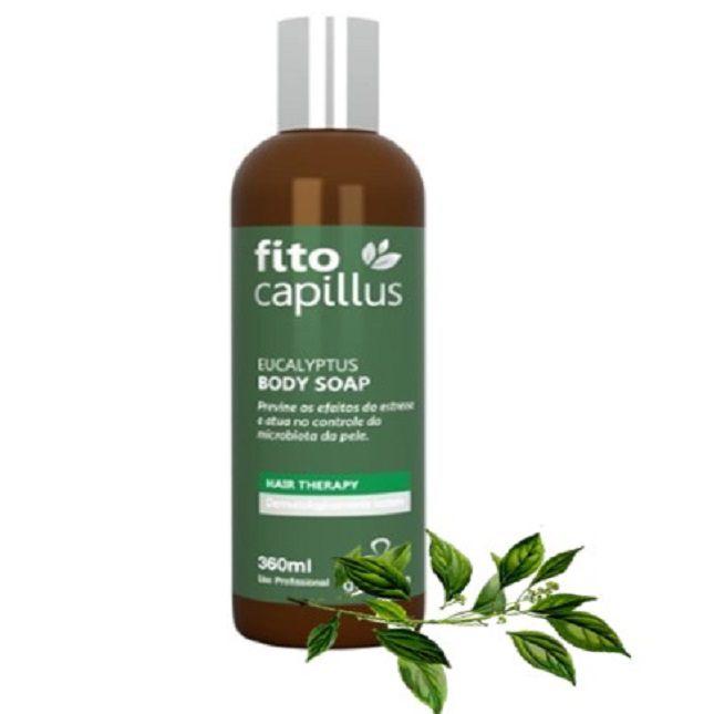 Fito Capillus Eucalyptus Terapia Capilar Grandha Kit Completo + Escova Alisadora