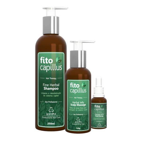 Fito Capillus Terapia Capilar Grandha Kit Completo