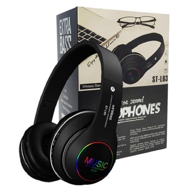 Fone De Ouvido Bluetooth 5.0 Dobrável Sem Fio ST-L63