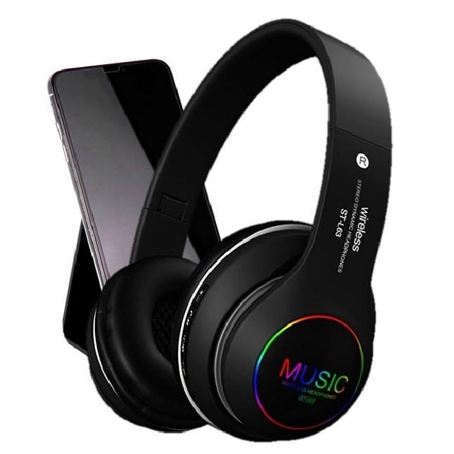 Fone De Ouvido  Dobrável Sem Fio Bluetooth 5.0 ST-L63