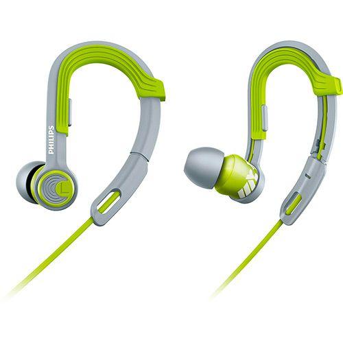 Fone de Ouvido Philips SHQ3300LF/00 Clip-On In Ear Verde/Cinza