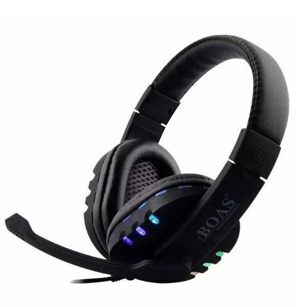 Fone Headset Gamer Notebook Usb Led Pc Ps3 Ps4  Boas Bq9700